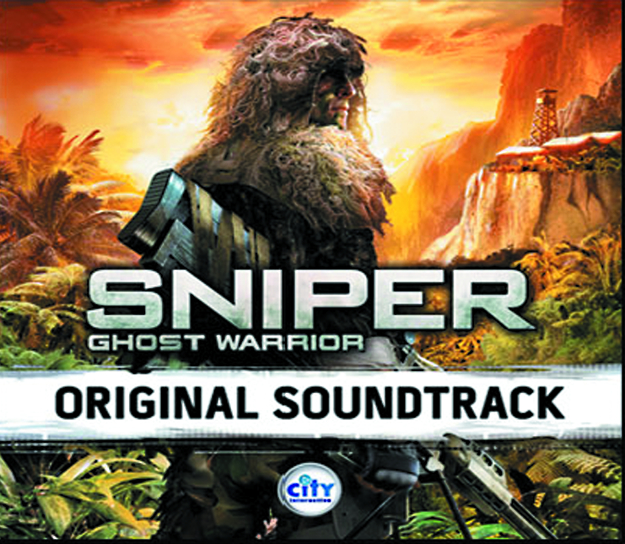 SNIPER GHOST WARRIOR OST CD