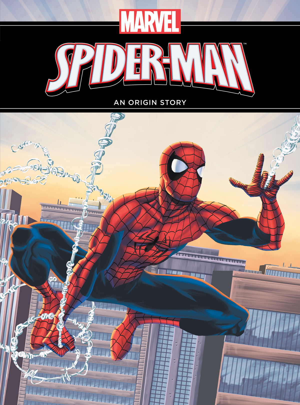 AMAZING SPIDER-MAN ORIGIN STORY YR HC 2ND ED