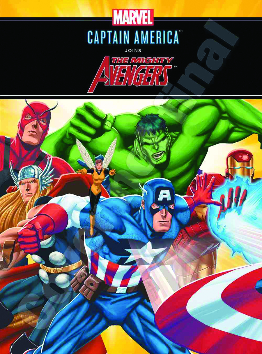 CAPTAIN AMERICA JOINS MIGHTY AVENGERS HC 2ND ED