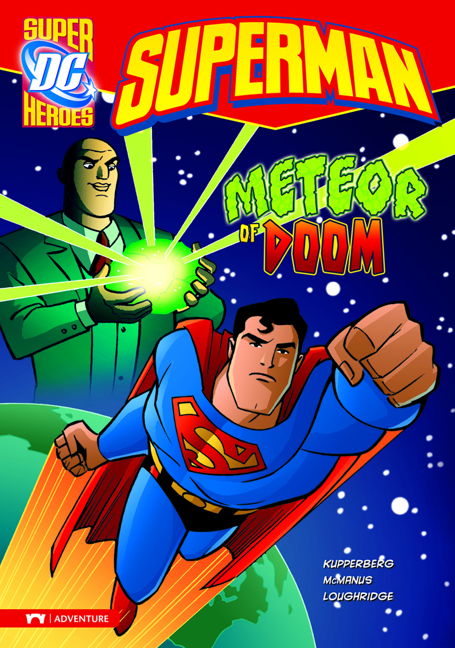 DC SUPER HEROES SUPERMAN YR TP METEOR OF DOOM