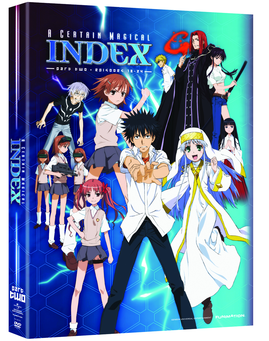 CERTAIN MAGICAL INDEX DVD SEA 01 PT 2