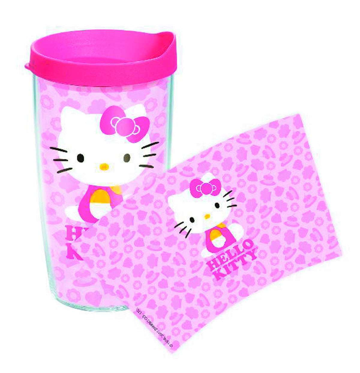 TERVIS HELLO KITTY CUPCAKE 16OZ TUMBLER W/LID