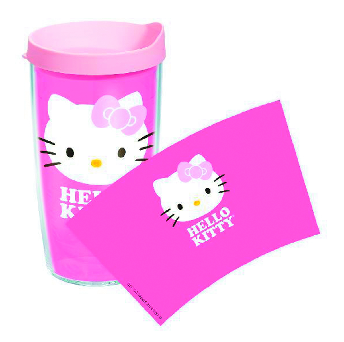 TERVIS HELLO KITTY FACE 16OZ TUMBLER W/LID