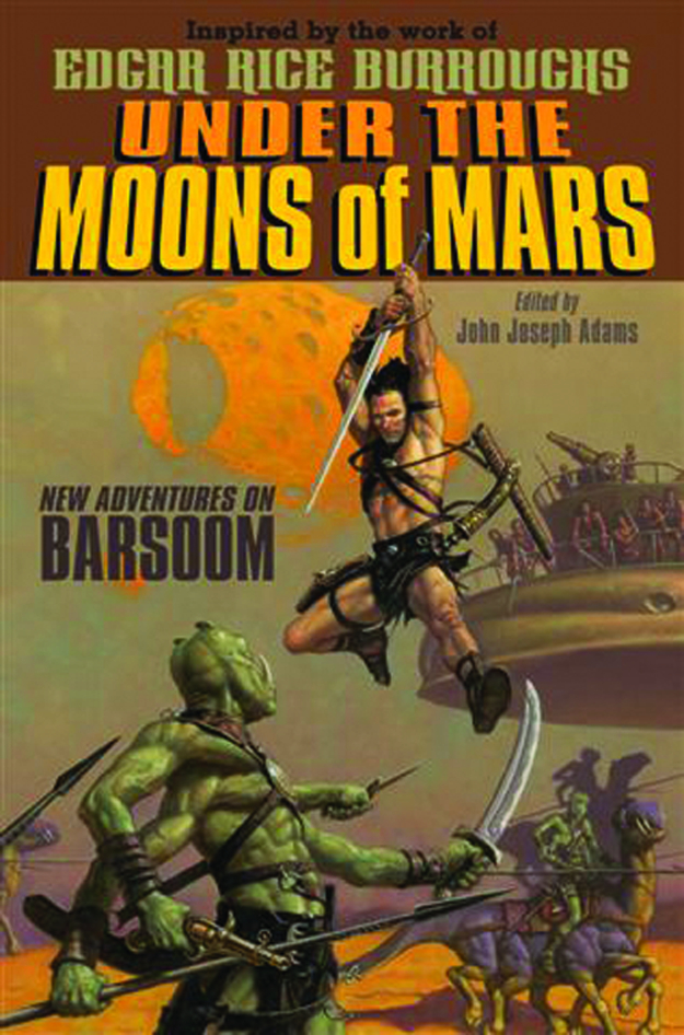 UNDER THE MOONS OF MARS NEW ADV ON BARSOOM SC