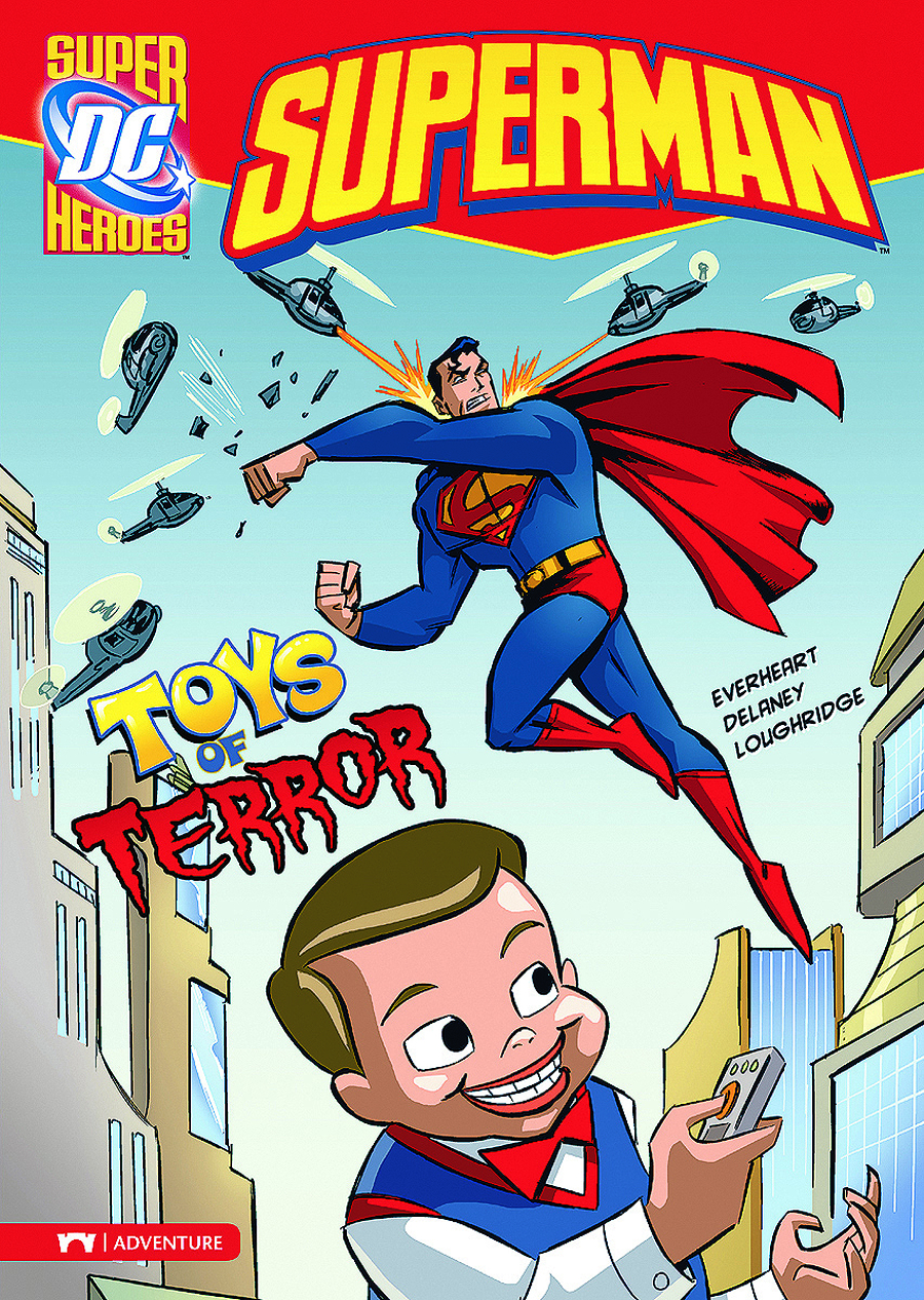 DC SUPER HEROES SUPERMAN YR TP TOYS OF TERROR