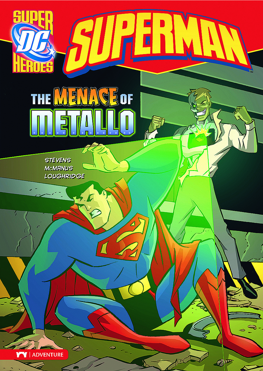 DC SUPER HEROES SUPERMAN YR TP MENACE OF METALLO