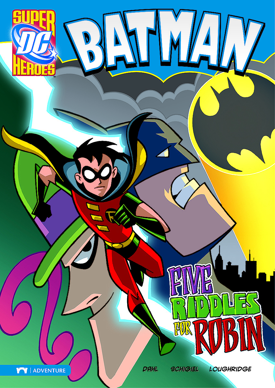 DC SUPER HEROES BATMAN YR TP FIVE RIDDLES FOR ROBIN