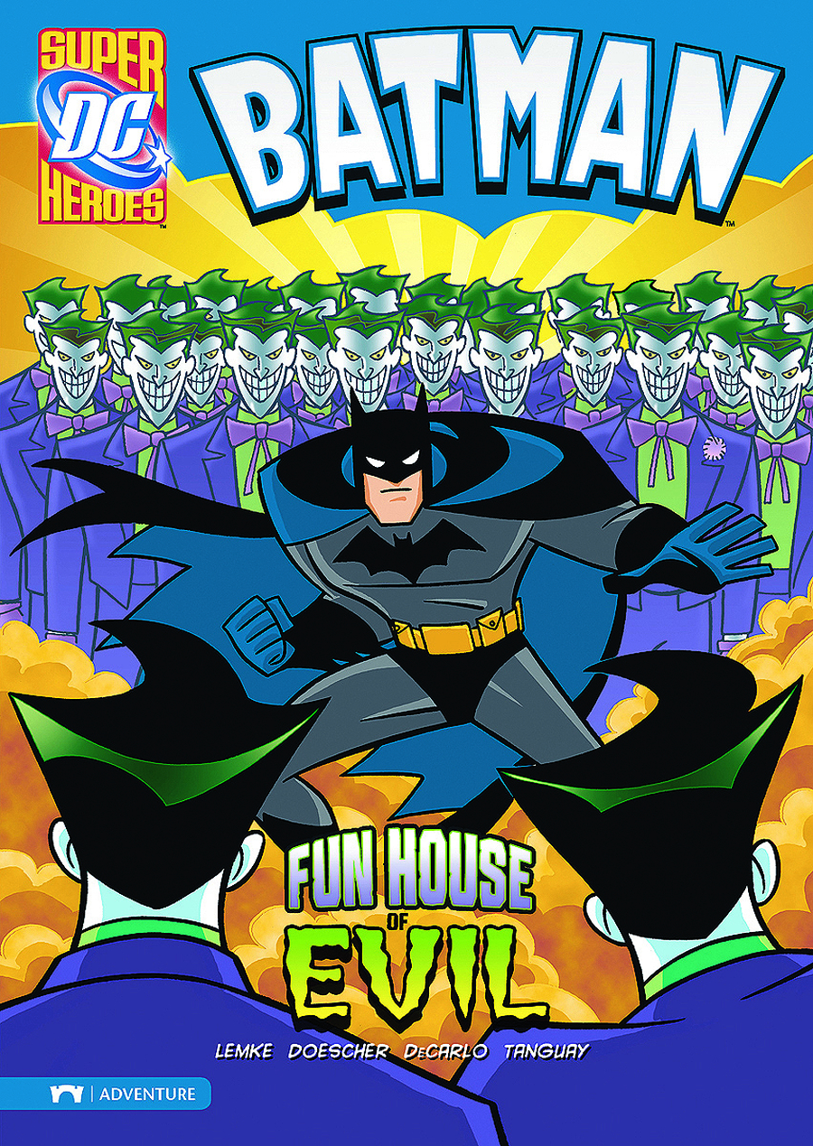 DC SUPER HEROES BATMAN YR TP FUN HOUSE OF EVIL