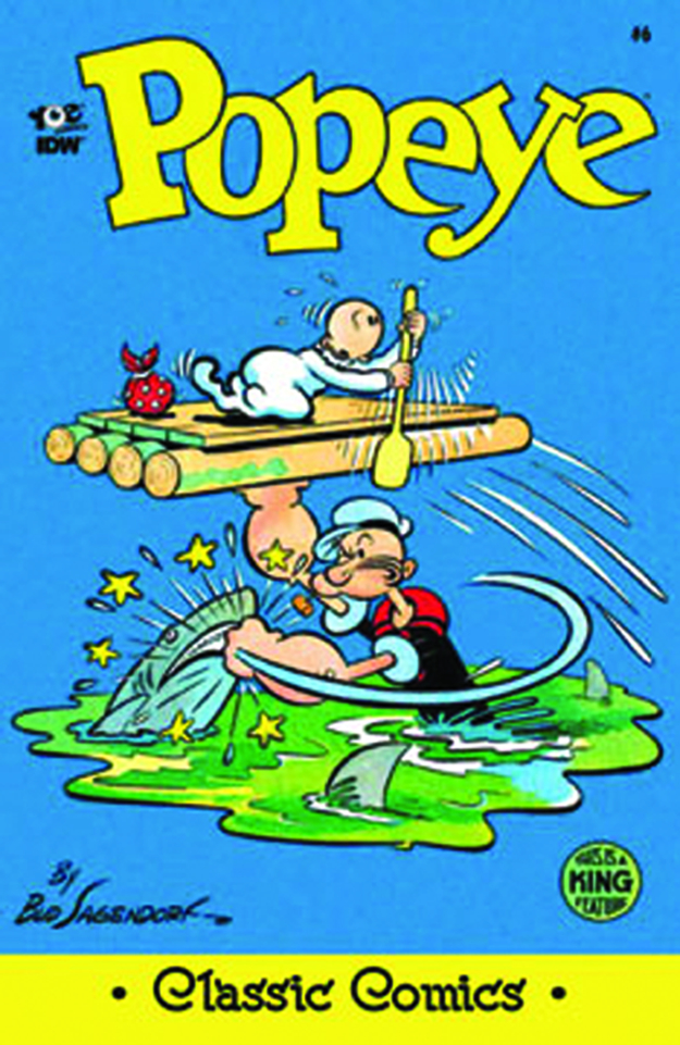 POPEYE CLASSICS ONGOING #6