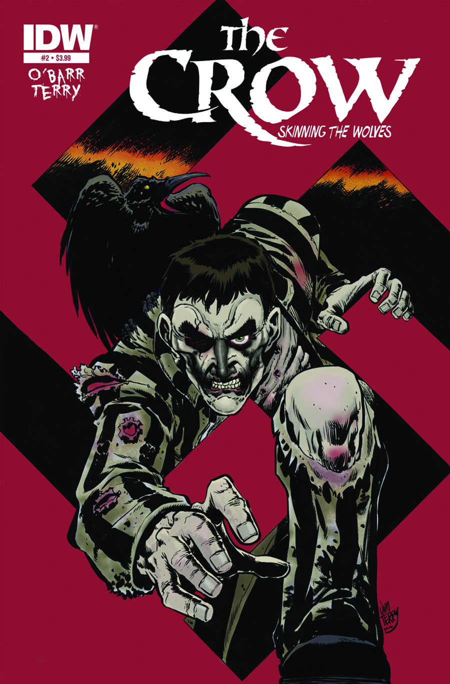 CROW SKINNING THE WOLVES #2