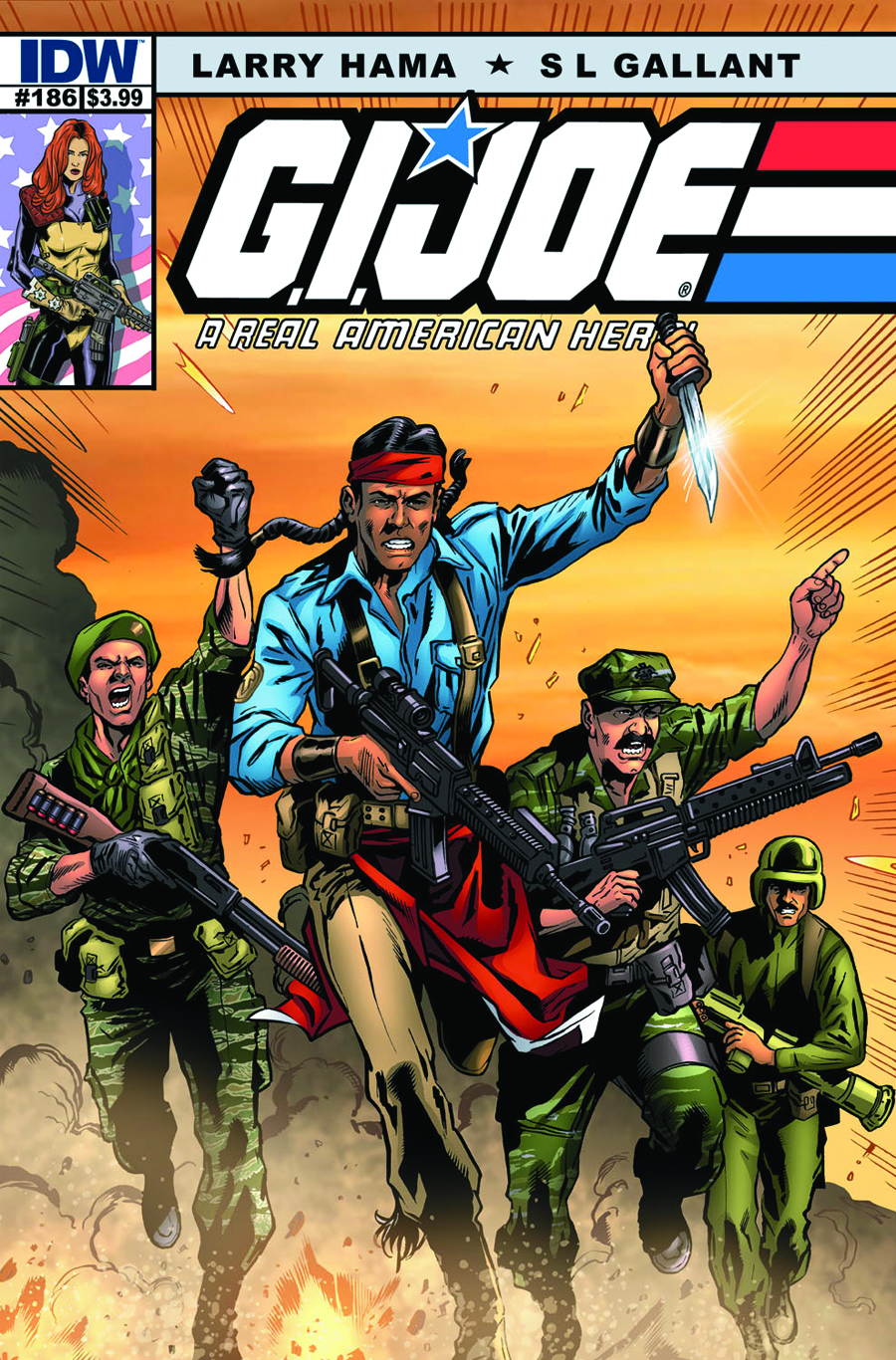 GI JOE A REAL AMERICAN HERO #186