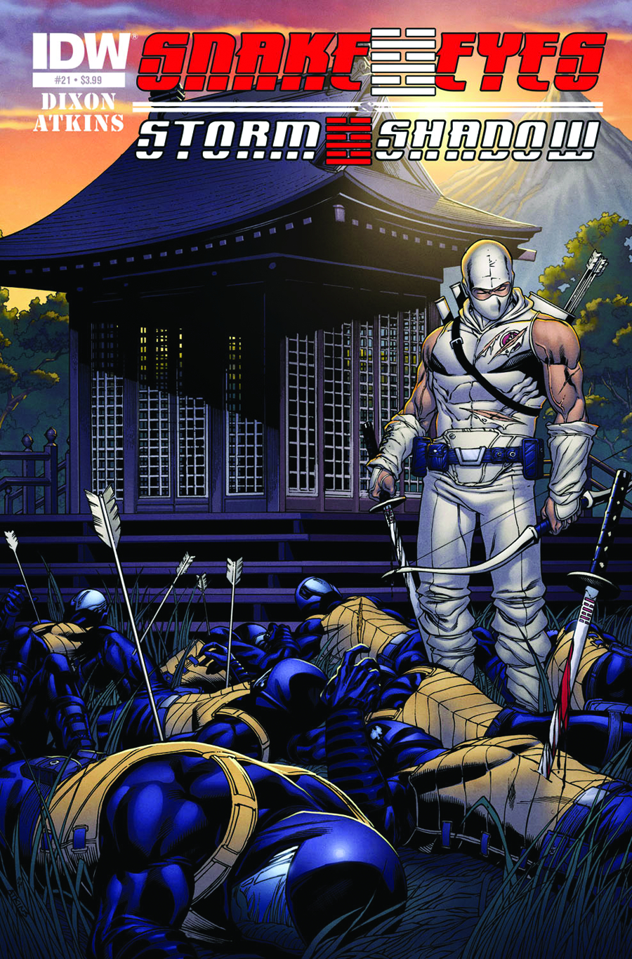SNAKE EYES & STORM SHADOW #21