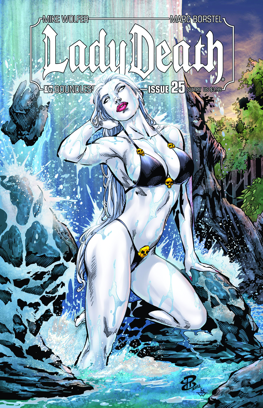LADY DEATH (ONGOING) #25 SULTRY CVR
