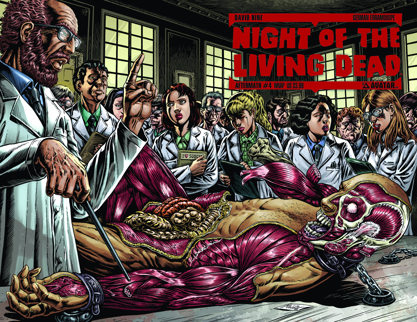 NIGHT O/T LIVING DEAD AFTERMATH #4 WRAP CVR