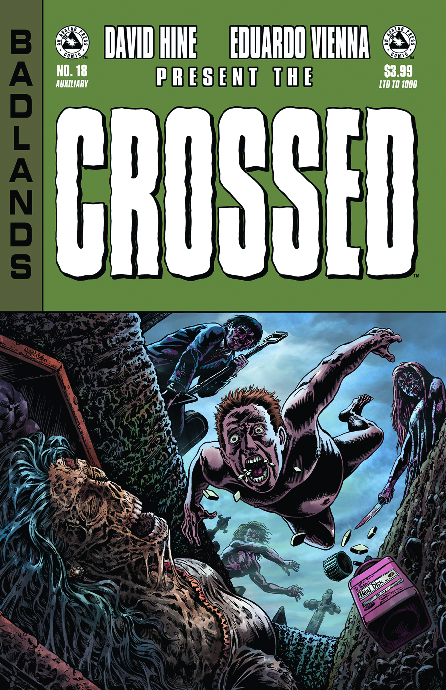 CROSSED BADLANDS #18 AUXILIARY ED