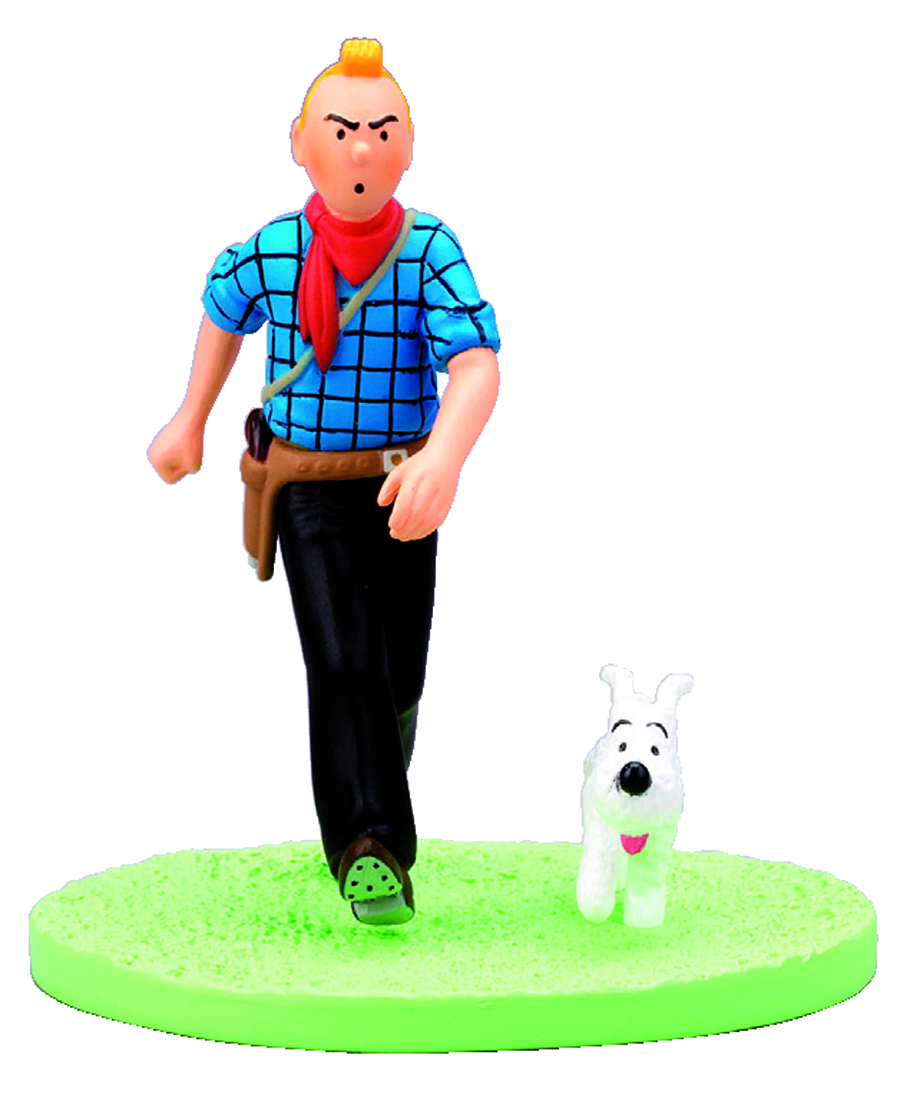 TINTIN BOX-SCENE TINTIN COW-BOY