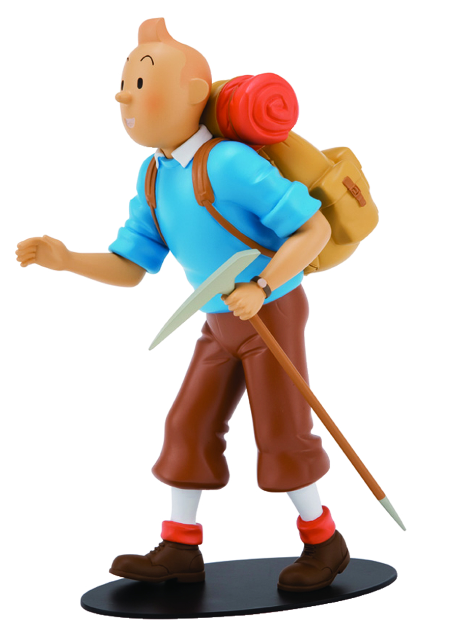 Nov121907 Tintin Mountaineer Limited Numbered Edition Statue