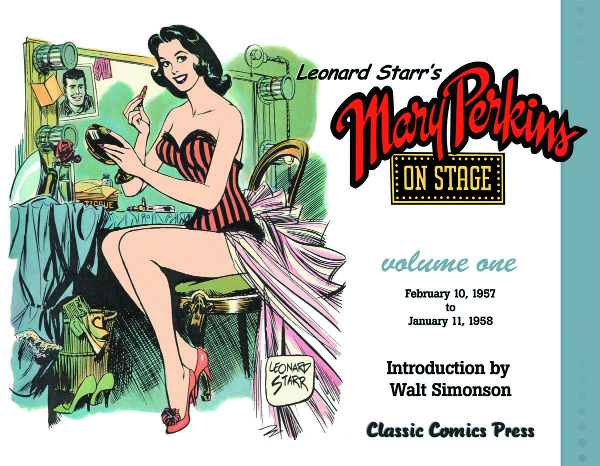 LEONARD STARRS MARY PERKINS ON STAGE TP VOL 01 NEW ED