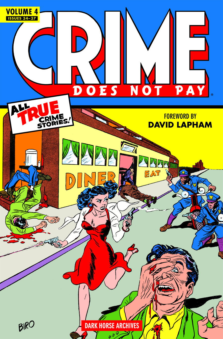 CRIME DOES NOT PAY ARCHIVES HC VOL 04