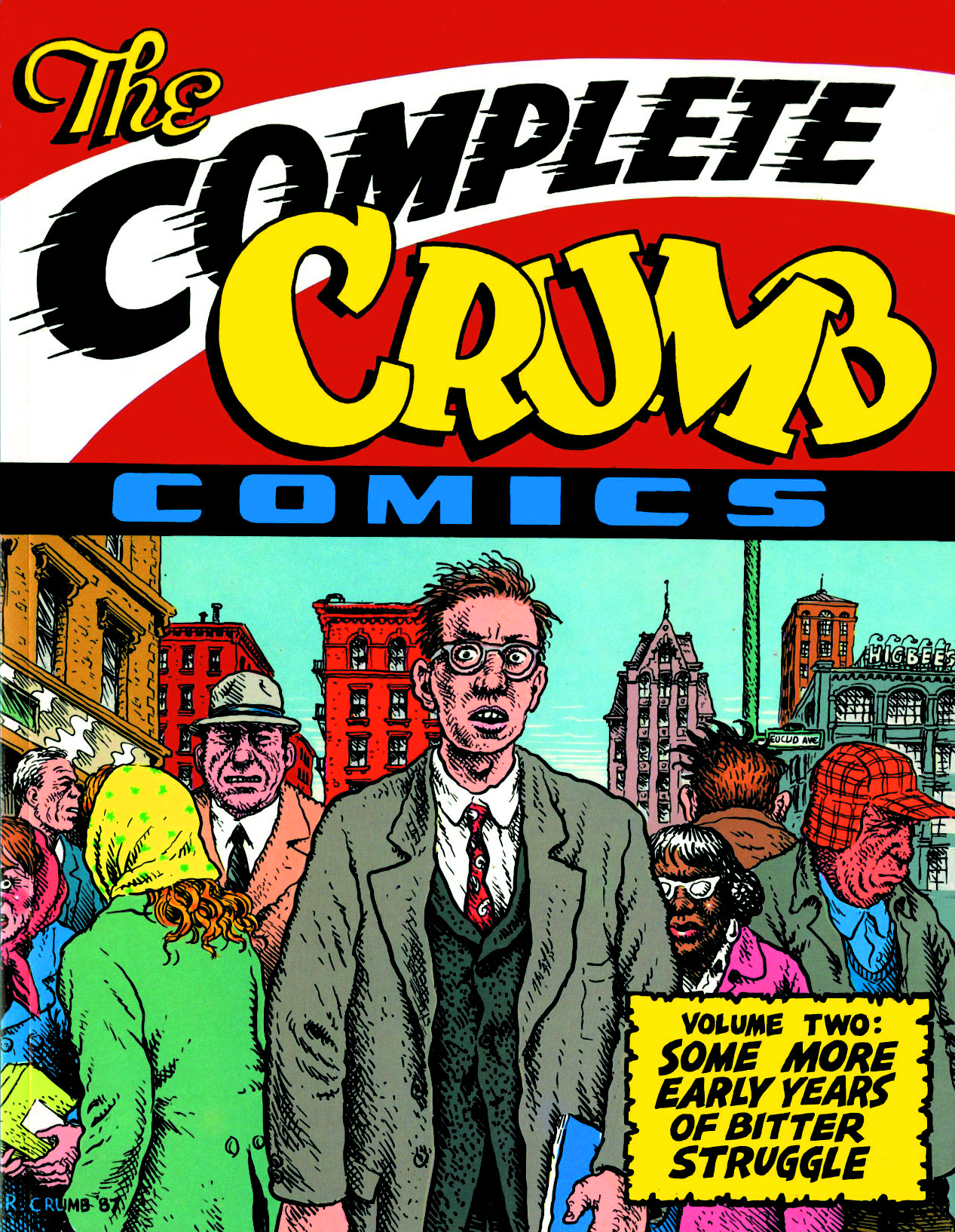 COMPLETE CRUMB COMICS TP VOL 02 MORE STRUGGLE