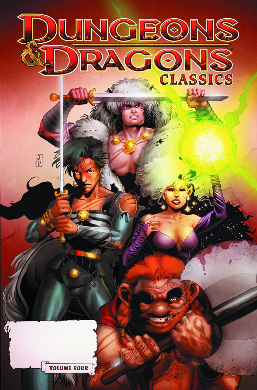 DUNGEONS & DRAGONS CLASSICS TP VOL 04