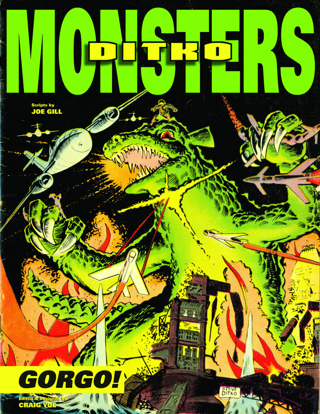 STEVE DITKO MONSTERS HC VOL 01 GORGO