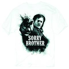 WALKING DEAD SORRY BROTHER PX WHT T/S XL