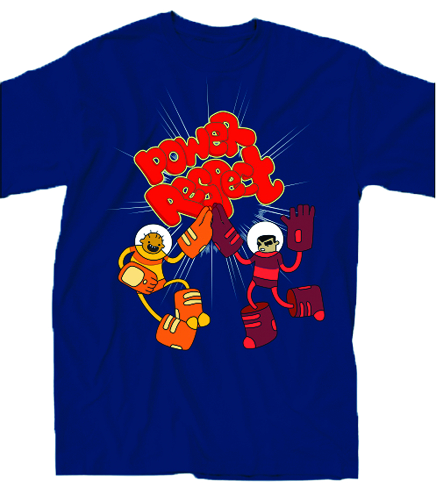 BRAVEST WARRIORS POWER RESPECT PX T/S XXL