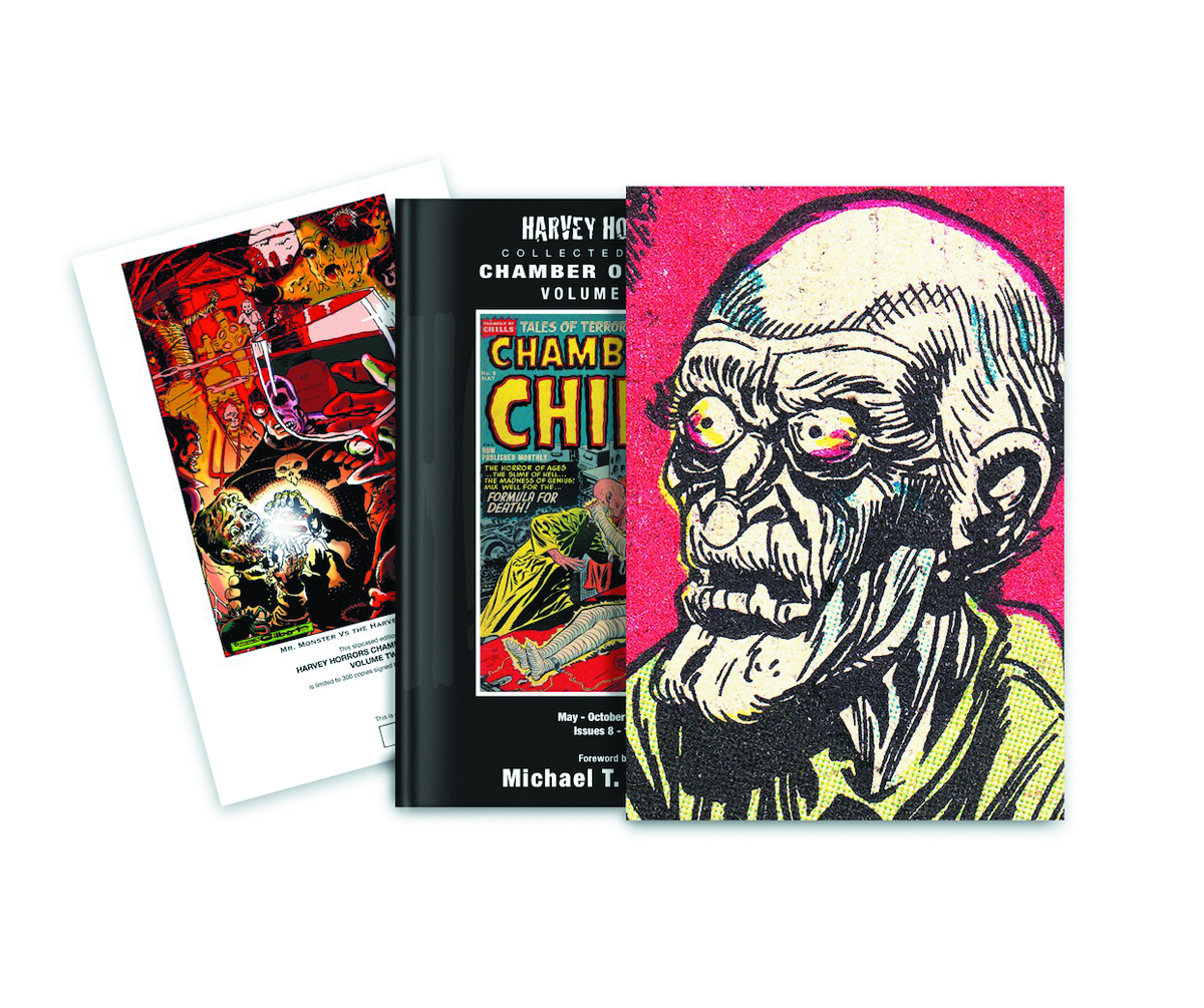 HARVEY HORRORS CHAMBER OF CHILLS SLIPCASE ED VOL 02