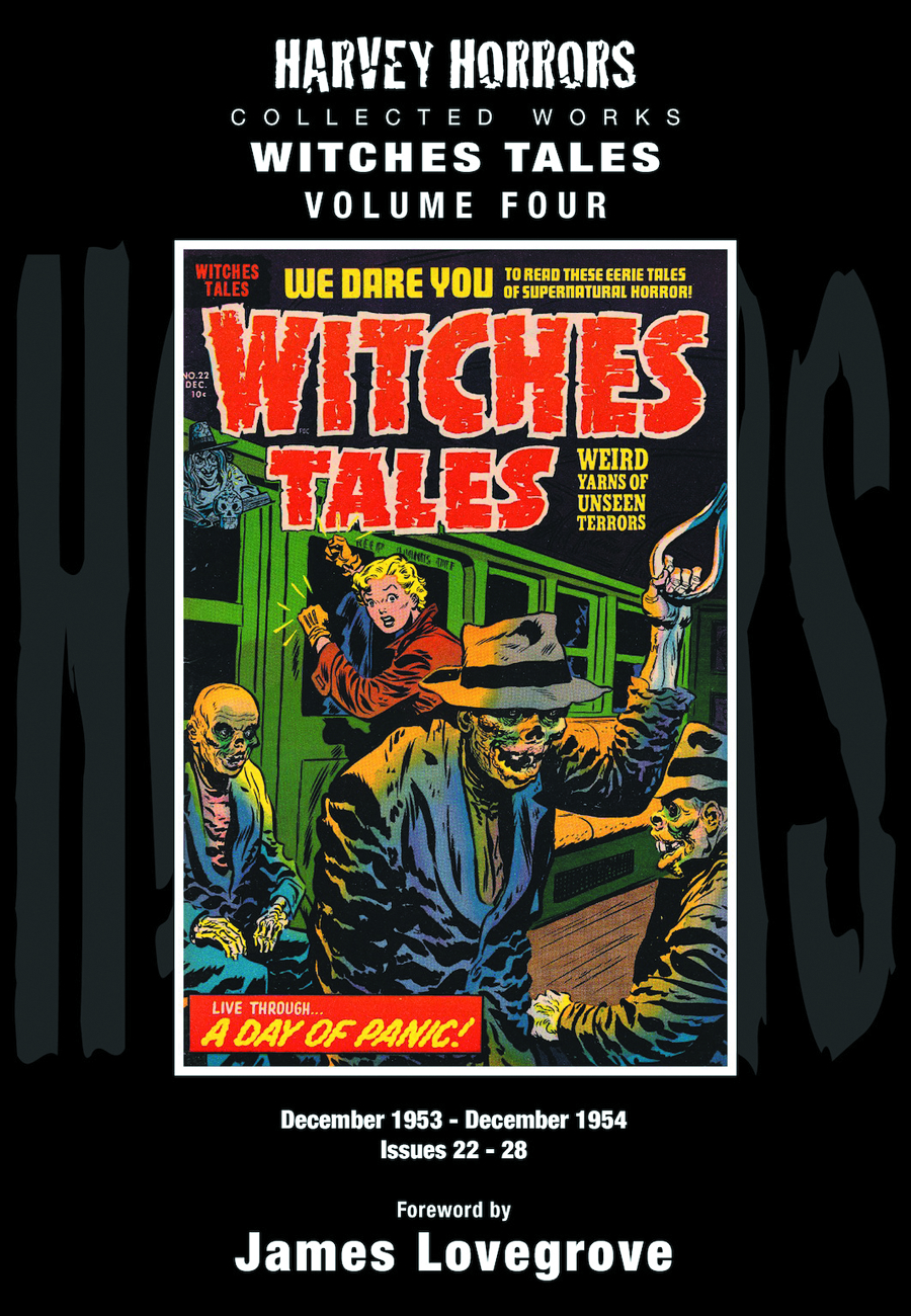 HARVEY HORRORS COLL WORKS WITCHES TALES HC VOL 04