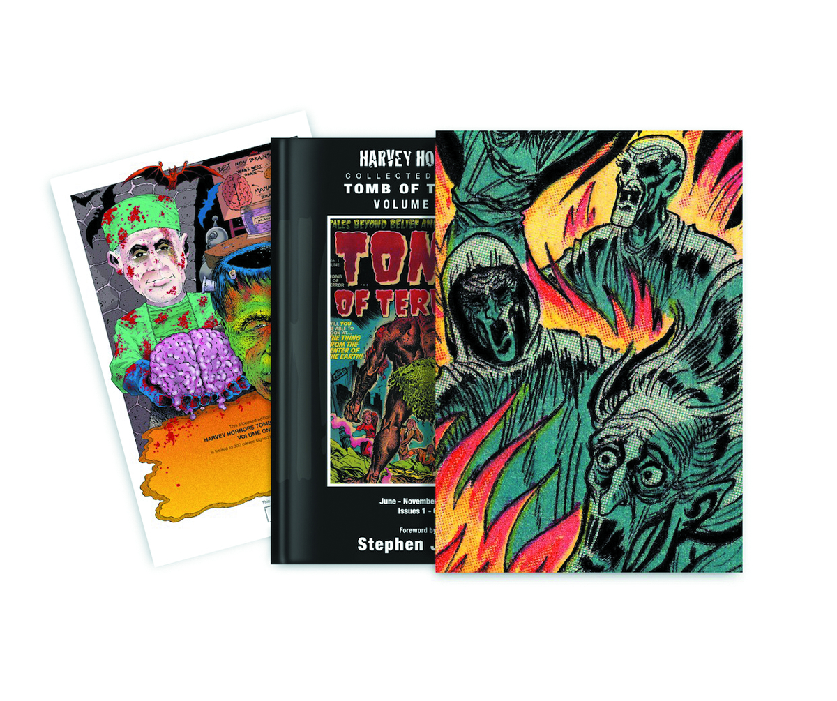 HARVEY HORRORS TOMB OF TERROR SLIPCASE ED VOL 01