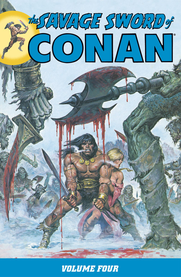 SAVAGE SWORD OF CONAN TP VOL 04
