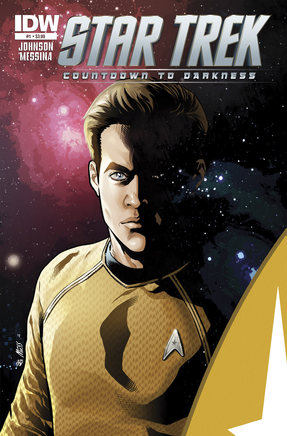 (USE FEB138002) STAR TREK COUNTDOWN TO DARKNESS #1