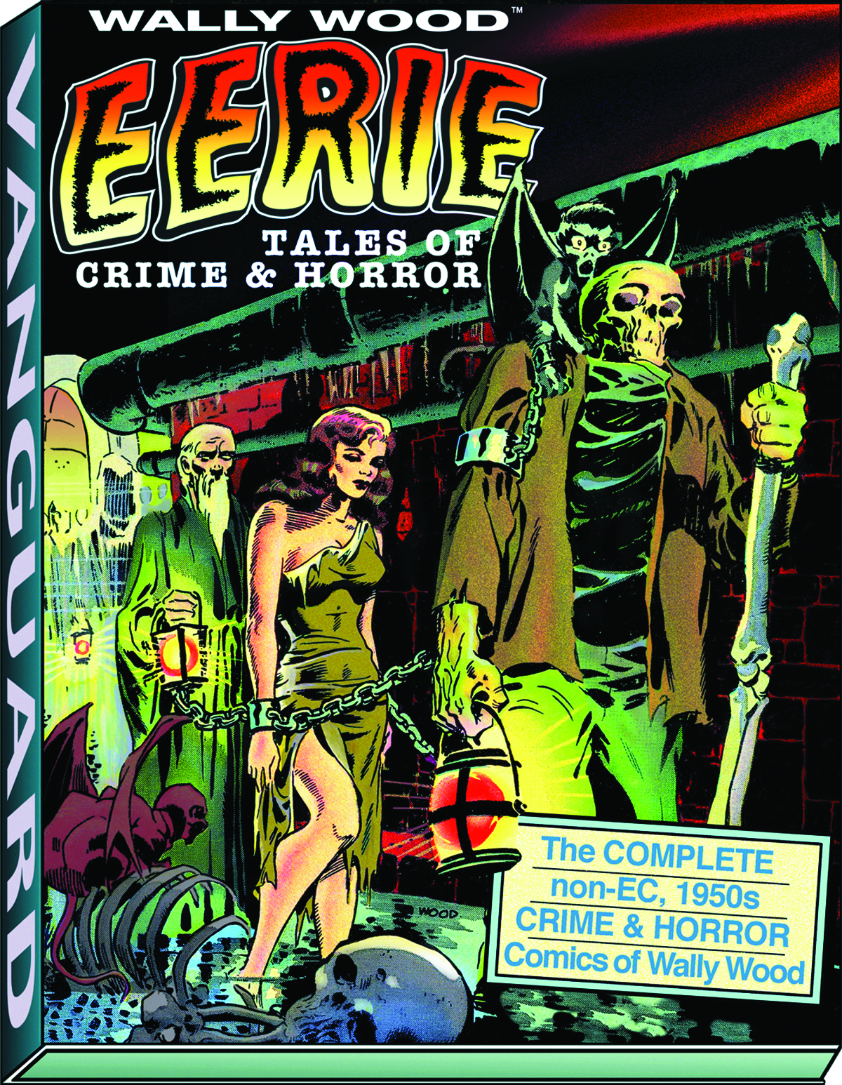 WALLY WOOD EERIE TALES OF CRIME & HORROR SC