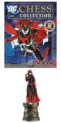 DC SUPERHERO CHESS FIG COLL MAG #27 BATWOMAN WHITE ROOK