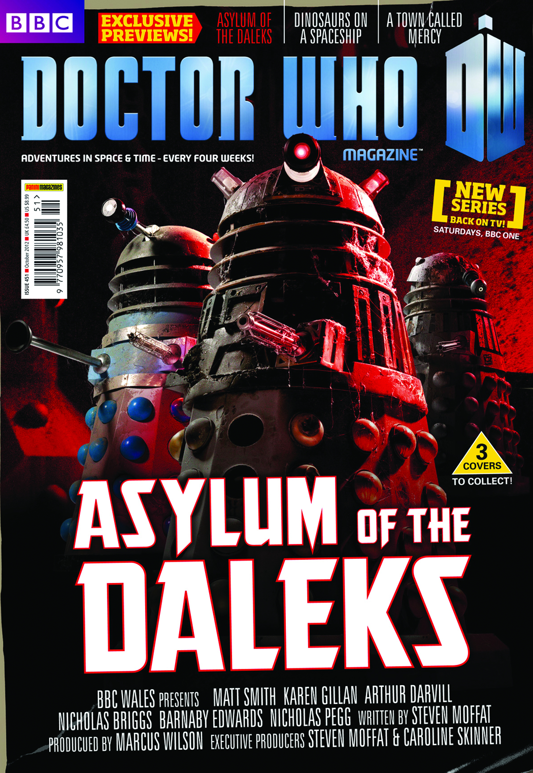 DOCTOR WHO MAGAZINE #456