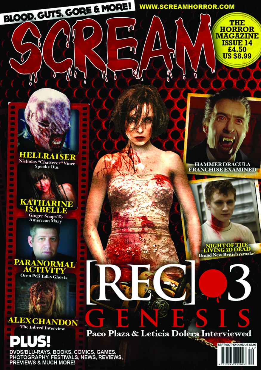 SCREAM MAGAZINE #14
