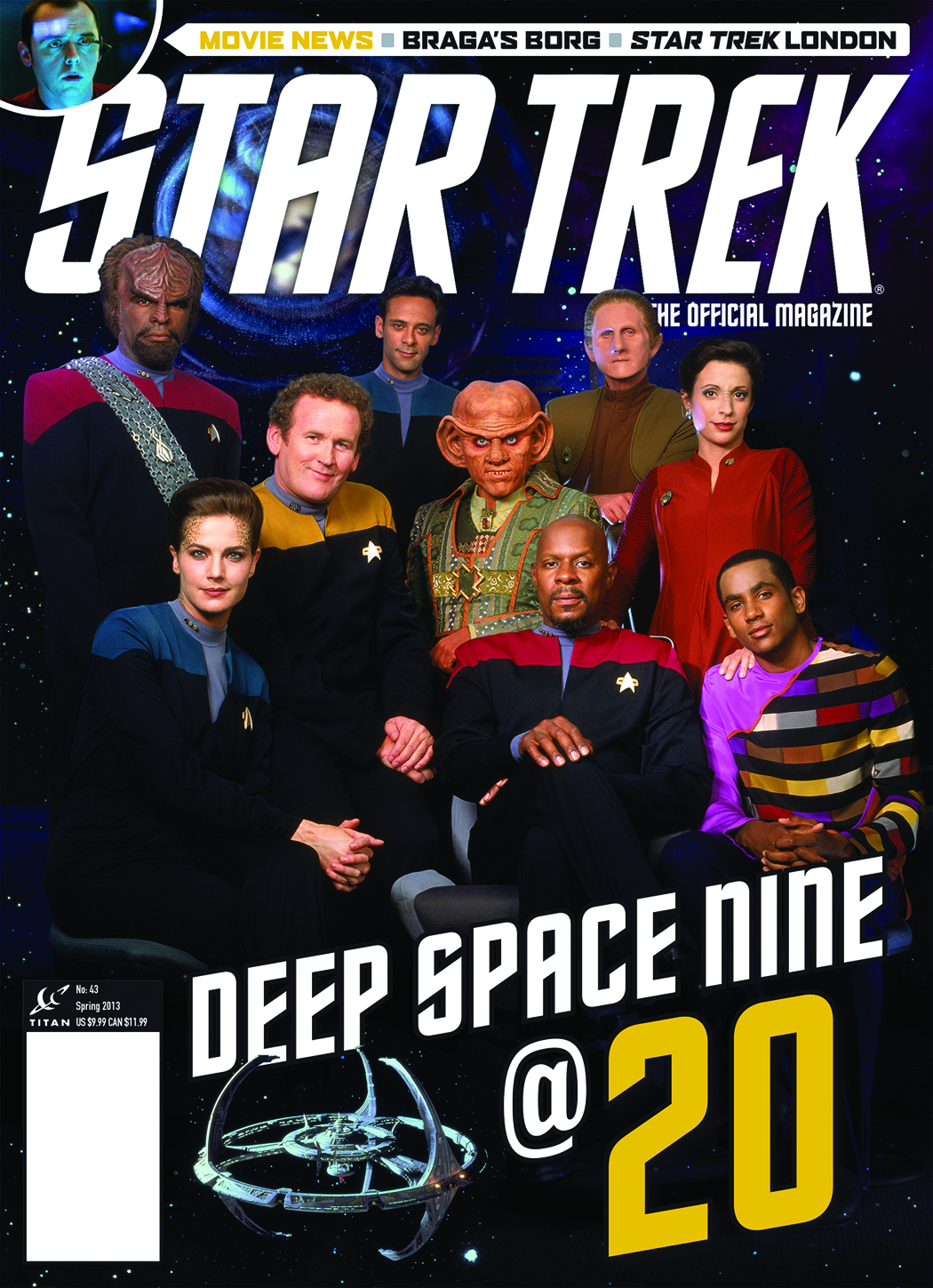 STAR TREK MAGAZINE #43 NEWSSTAND ED