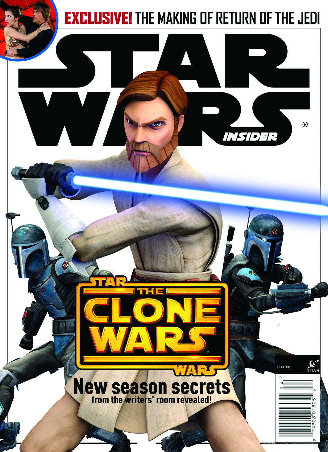 STAR WARS INSIDER #139 NEWSSTAND ED