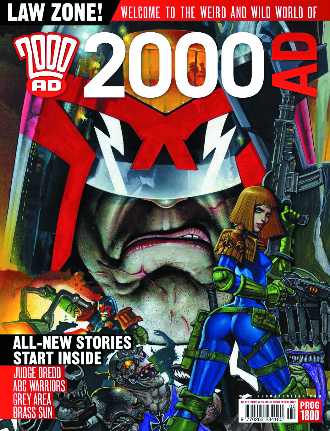 2000 AD PACK JAN 2013