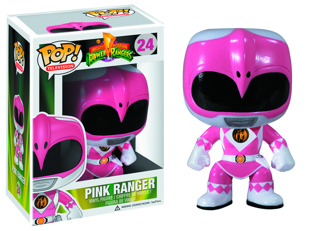 POP POWER RANGERS PINK RANGER VINYL FIG