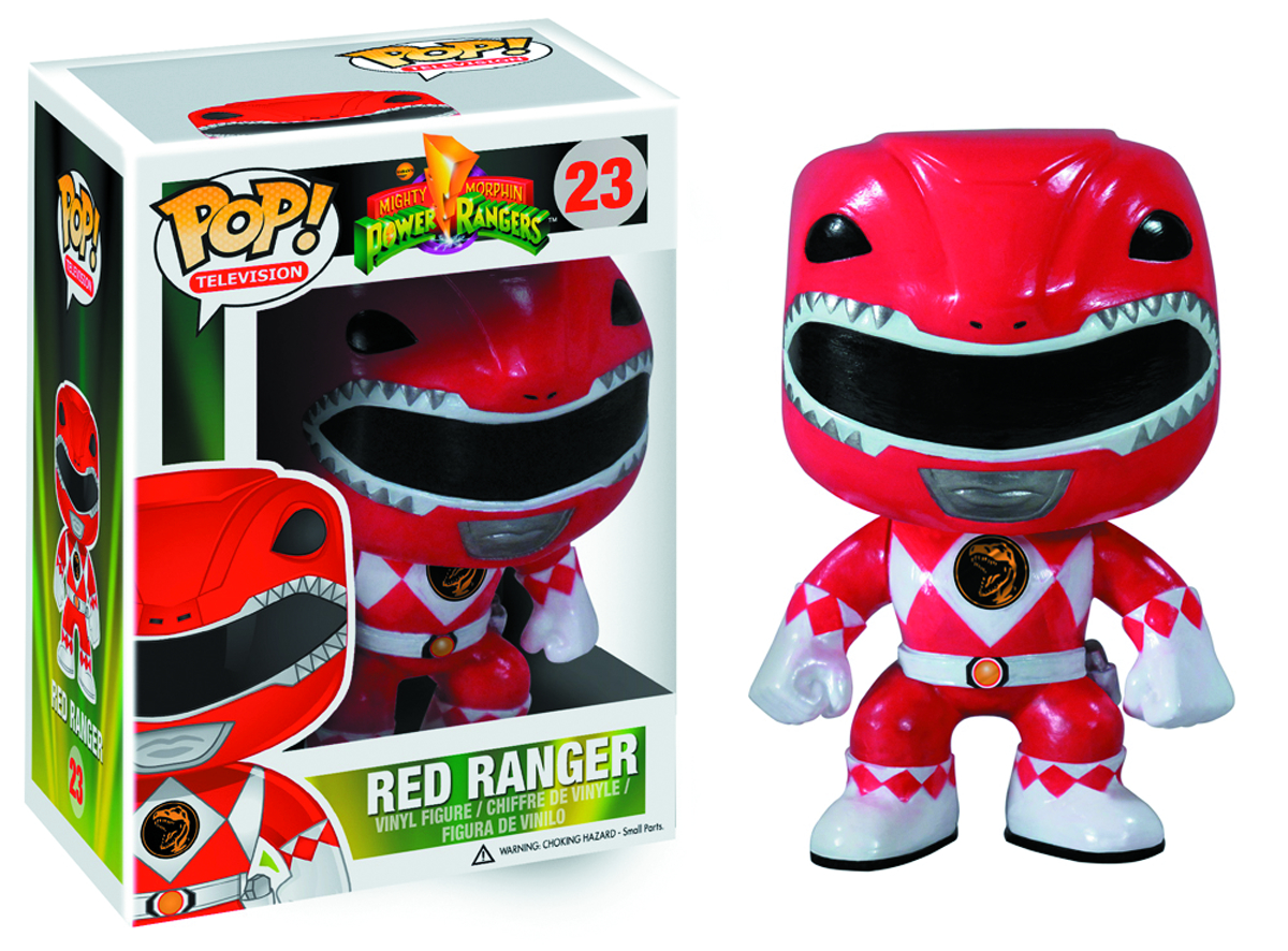 POP POWER RANGERS RED RANGER VINYL FIG