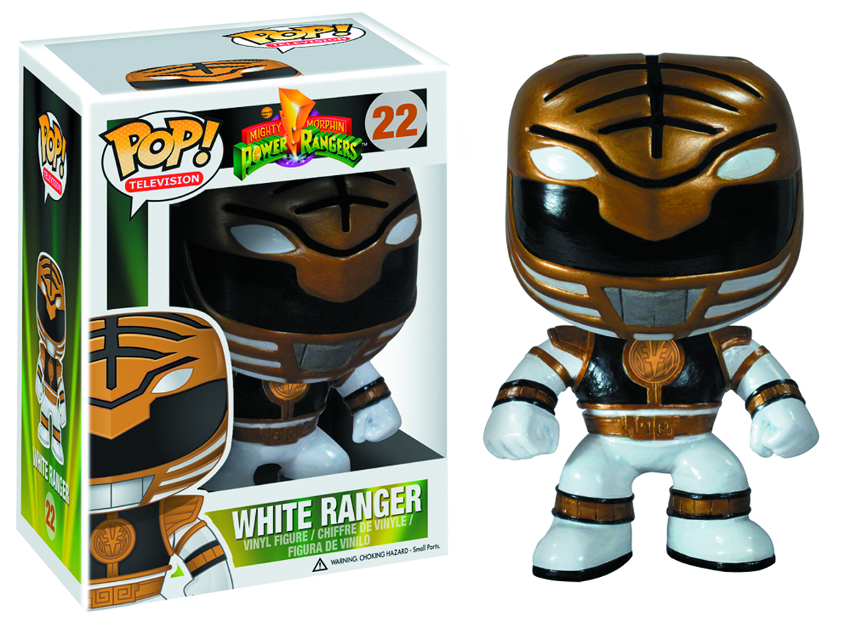POP POWER RANGERS WHITE RANGER VINYL FIG