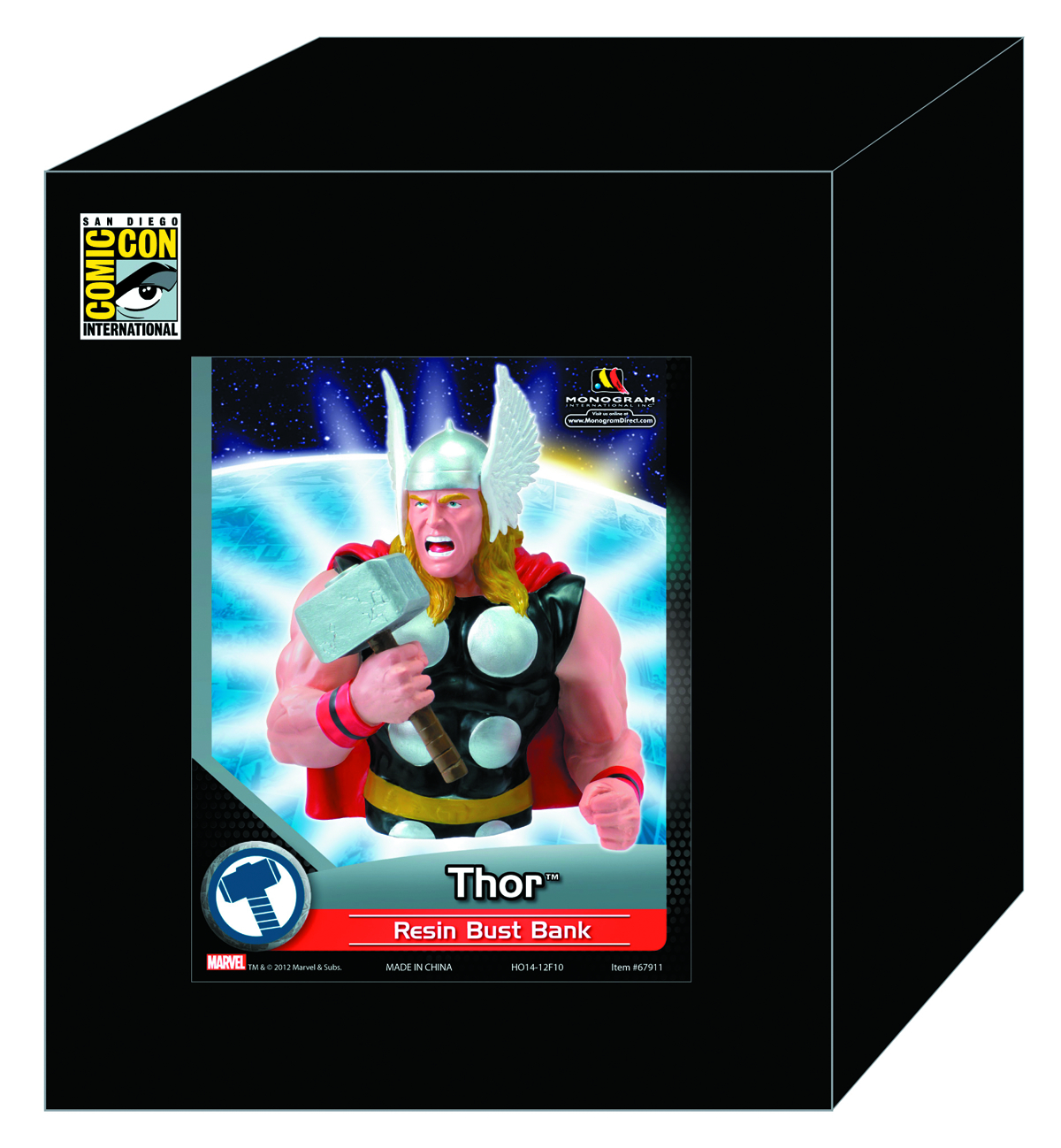 SDCC 2012 THOR RESIN BUST BANK