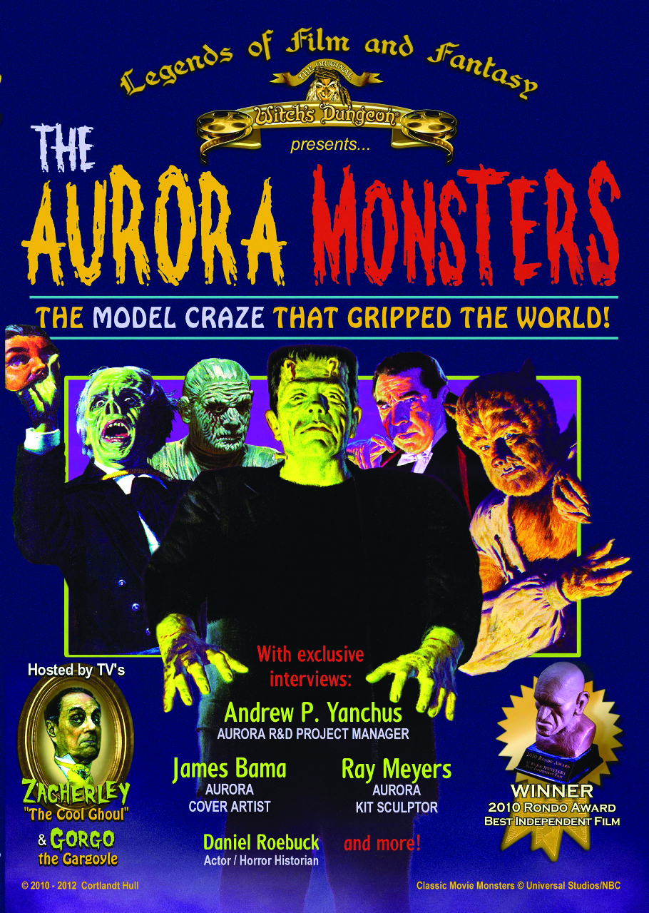 AURORA MONSTERS MODEL KITS THAT GRIPPED DVD