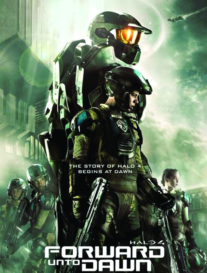 HALO 4 FORWARD UNTO DAWN DVD