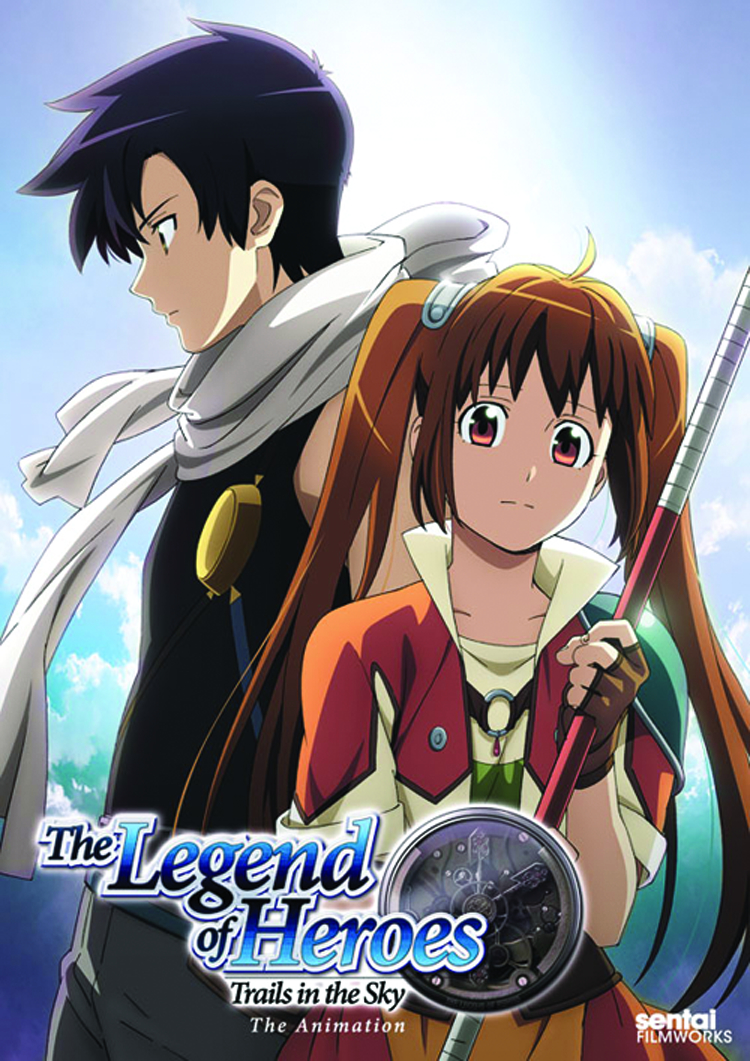 LEGEND OF HEROES COMP COLL DVD