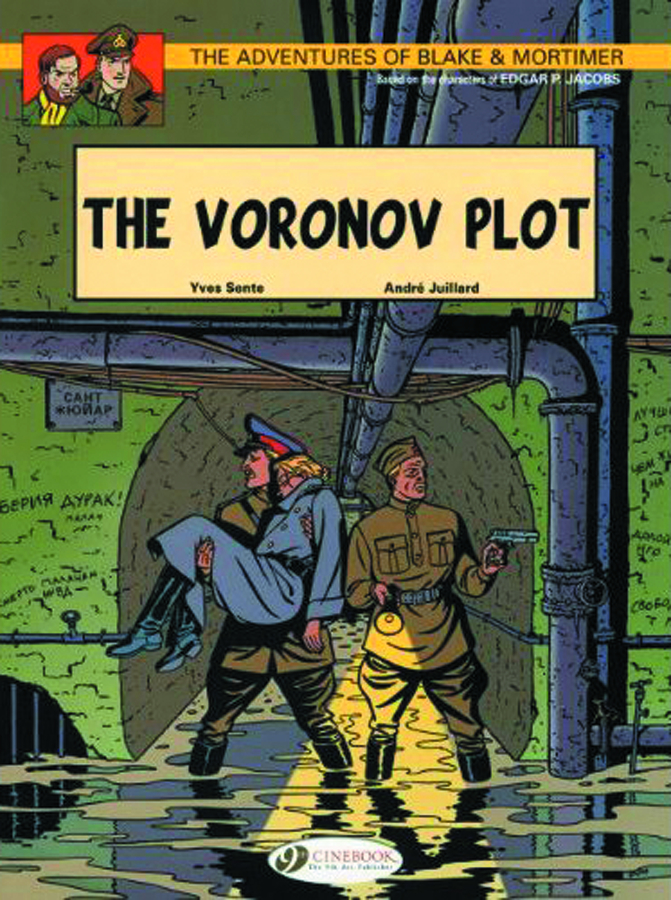 BLAKE & MORTIMER GN VOL 08 VORONOV PLOT