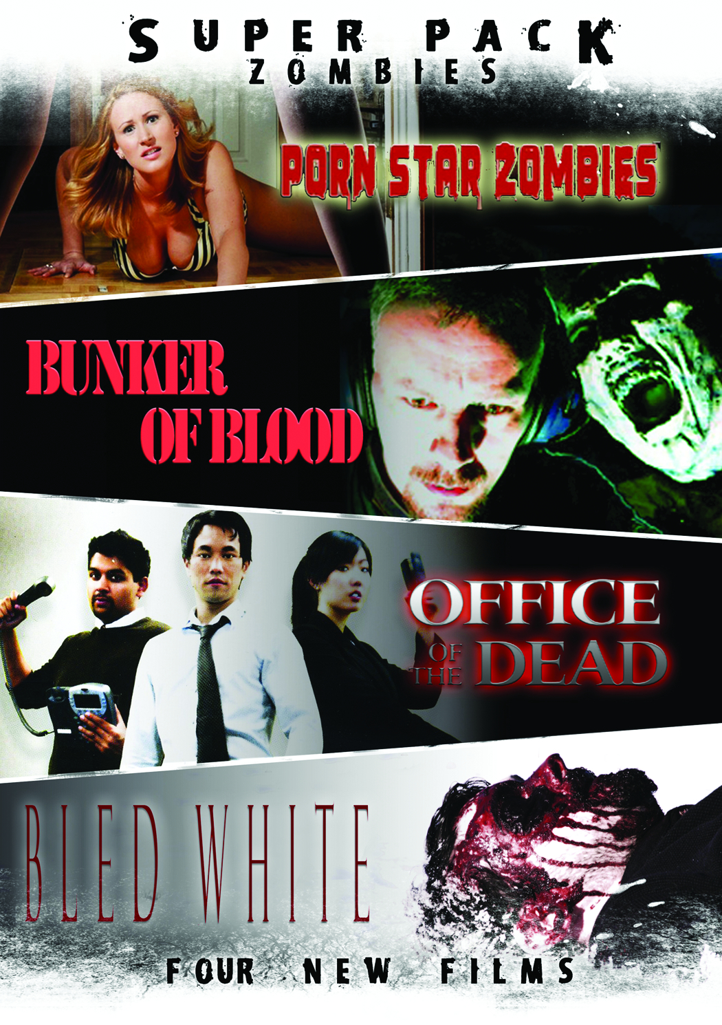 SUPER PACK ZOMBIES DVD