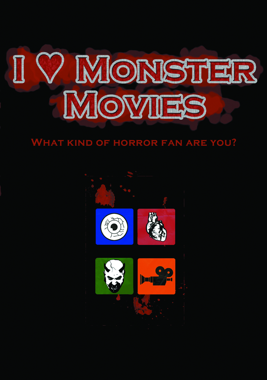 I HEART MONSTER MOVIES DVD